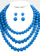 AccessHERize Faceted Bead Necklace Set
