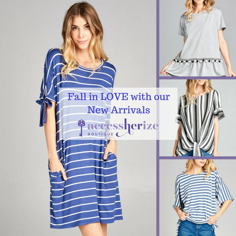 Fall In Love with Our Newest Tops and Dresses!