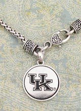 AccessHERize Kentucky Wildcats Silver Linings Charm Necklace