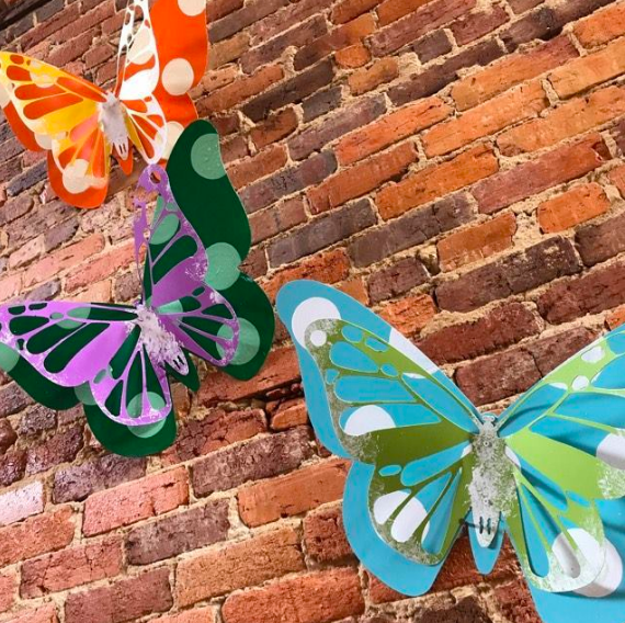 Sun April 28th: 3D Metal Butterfly Workshop