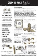 Annie Sloan America Bright Silver Gilding Wax