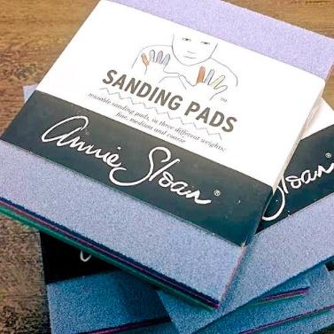 Annie Sloan America Sanding Sponge 3 Pack, Annie Sloan
