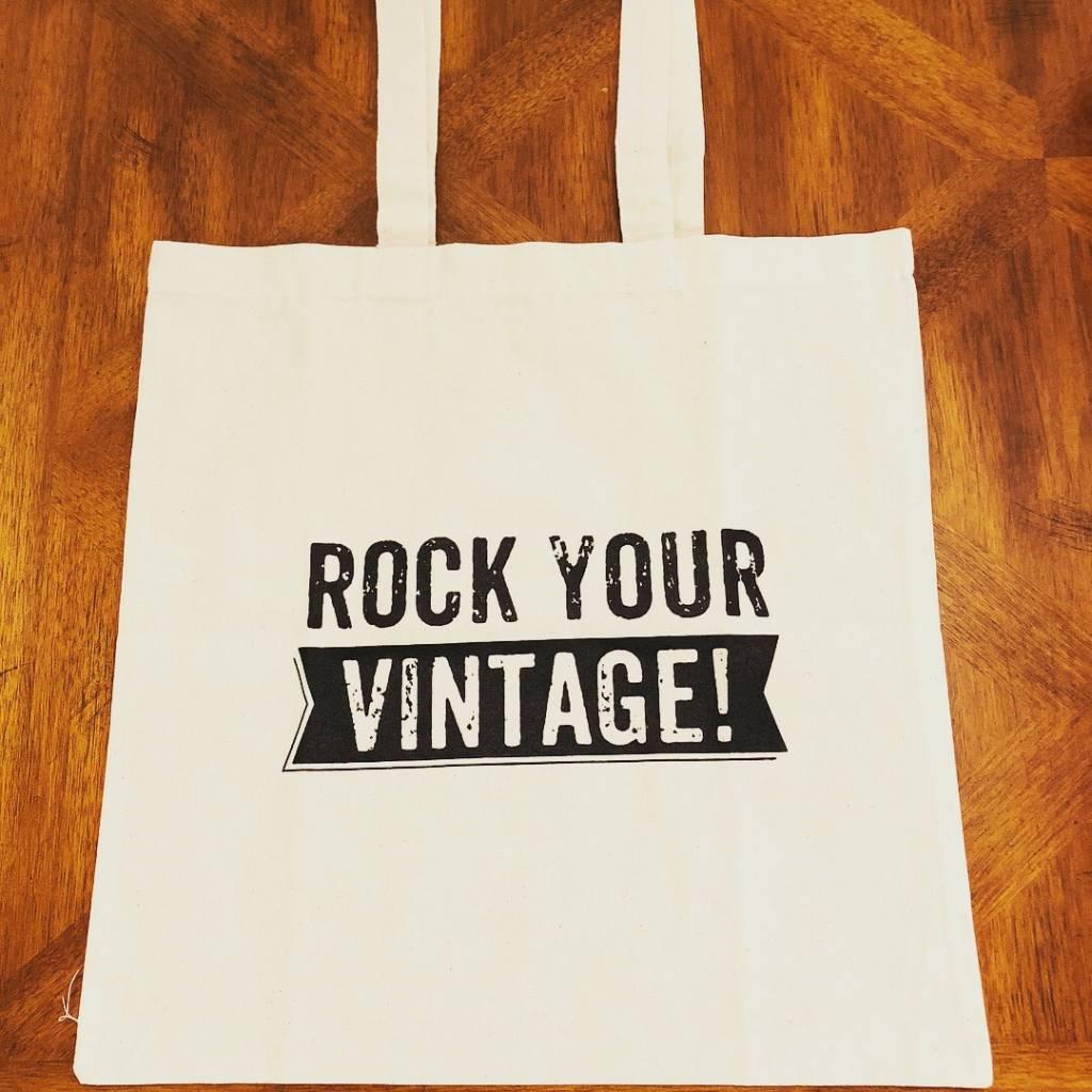 Rock Your Vintage Tote