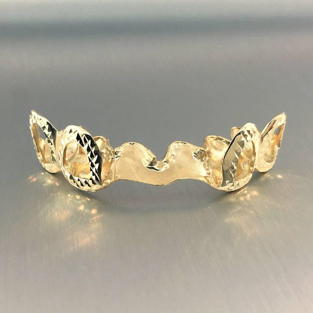 4 Spread Fronts Open Crown Diamond Cut