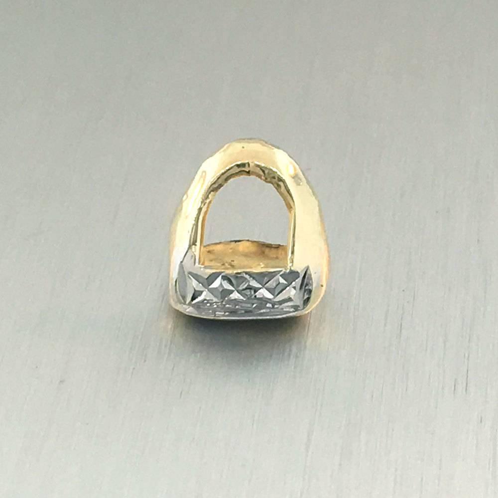 1 Front Open Crown Diamond Cut
