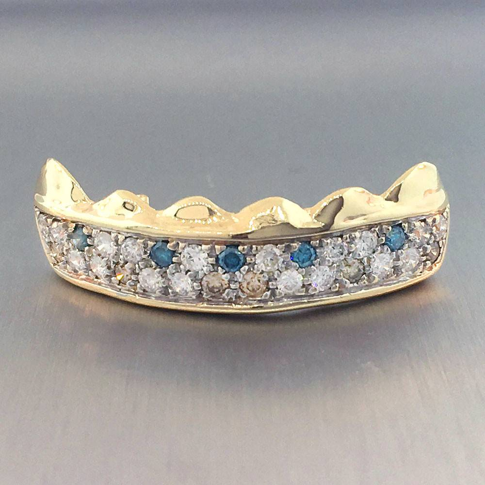 6 Front Grillz with 29 Diamonds