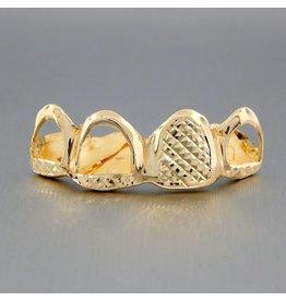 4 Fronts Open Diamond Cut