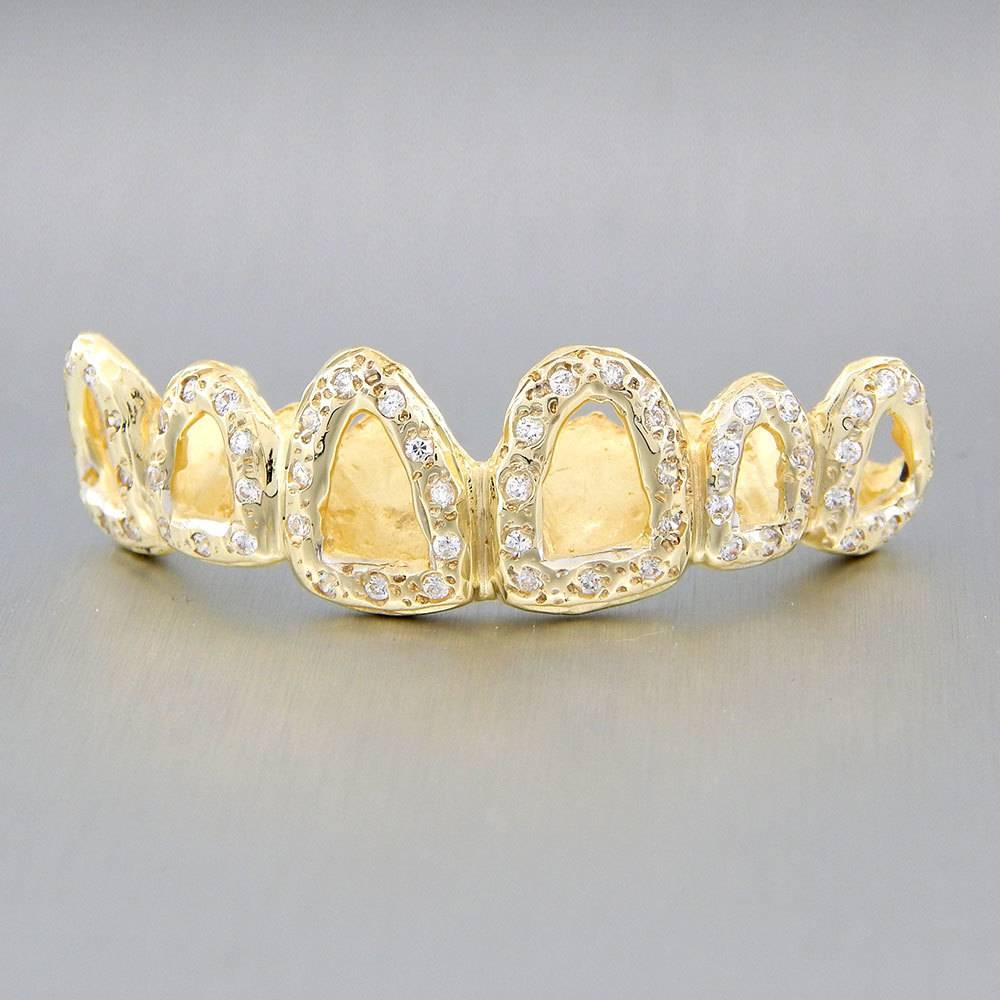 6 Fronts Open Crown with 60 Diamonds