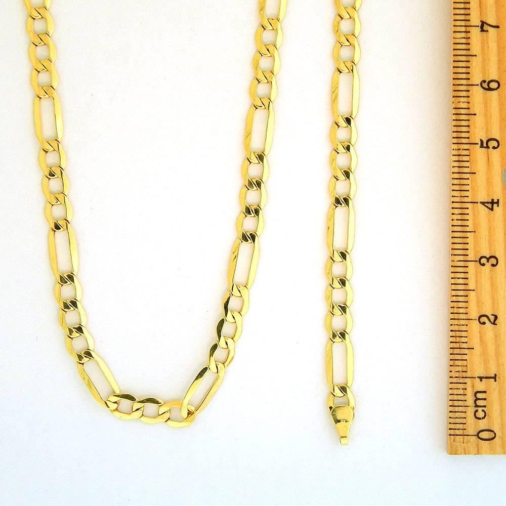 10k Gold Figaro Link NFI816 Chain