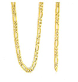 10k Gold Figaro Link NFW89 Chain