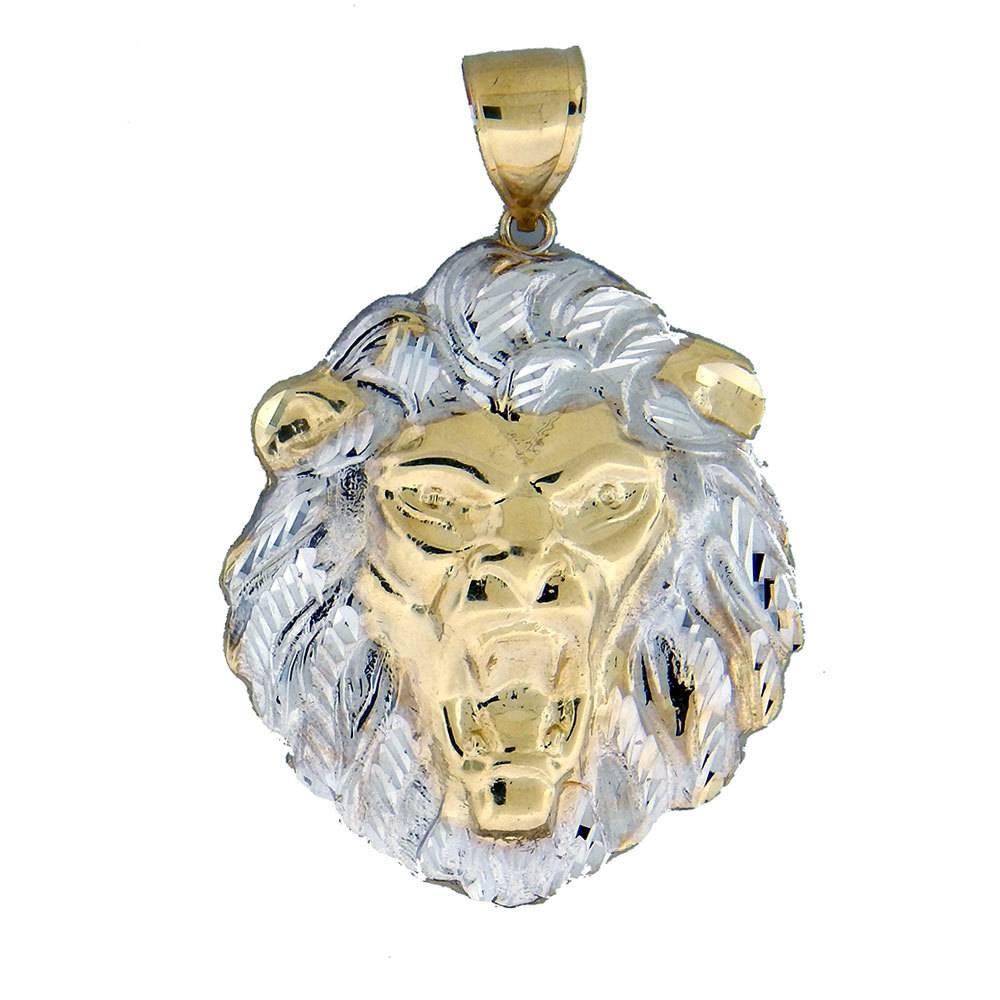 10k Gold Lion PL741 Pendant