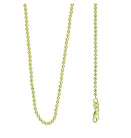 10k Gold Mooncut CR128 Chain