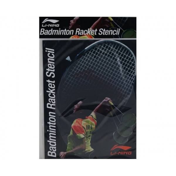 Li-Ning Badminton Racket Stencil