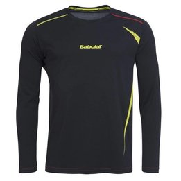 Babolat Long Sleeve Shirt 40S1545 Dark Grey