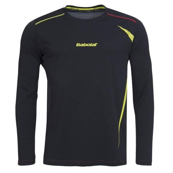 Babolat Long Sleeve Shirt 40S1545 Dark Grey