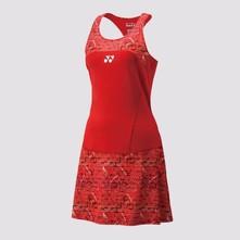 Yonex Robe 20410 Femme  Rouge