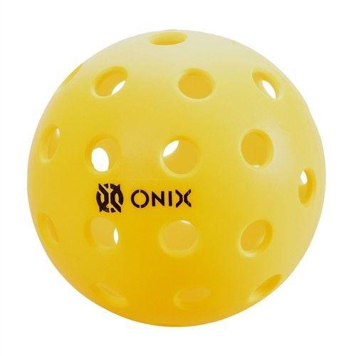 Onix Pickleballs Pure 2 Outdoor (6) Yellow