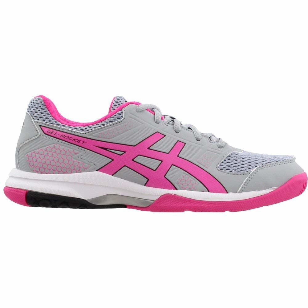 Asics Gel Rocket 8 L Gris/Rose