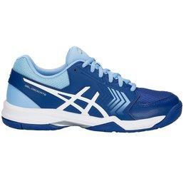 Asics Gel Dedicate 5 L - Monaco Blue/White