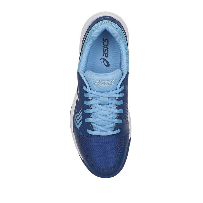 Asics Gel Dedicate 5 L - Bleu/Blanc