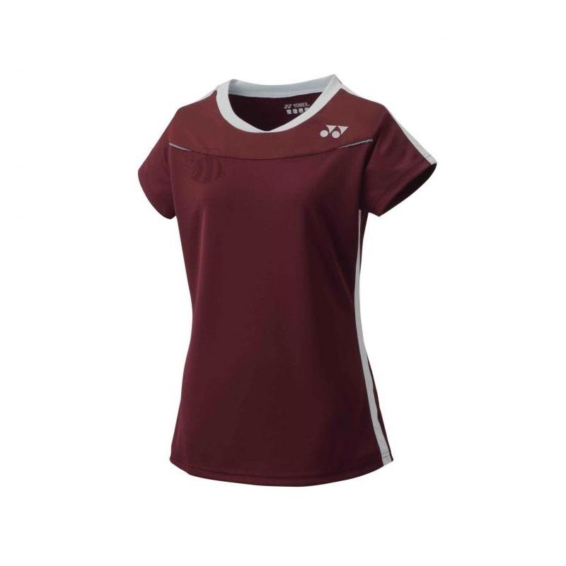 Yonex T-Shirt 20372 Dark Wine