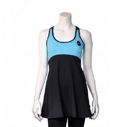 Ionik Dress 2525UV Black/Turquoise