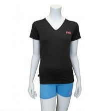 Ionik T-shirt 1252T Black/Pink Logo