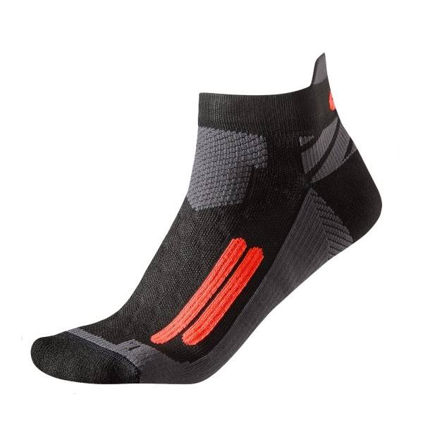 Asics Nimbus Black/Flame Socks
