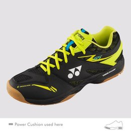 Yonex Power Cushion 55 Black/Yellow