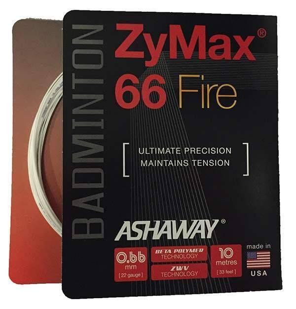Ashaway ZyMax 66 Fire Blanc
