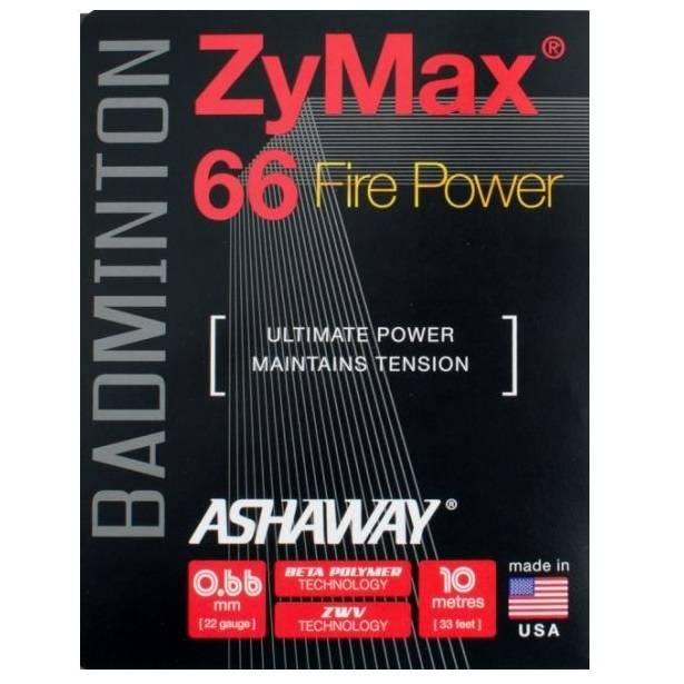 Ashaway ZyMax 66 Fire Power Orange