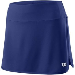 Wilson W Team 12.5 Skirt Blue Depth