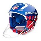 Briko Slalom Race Helmet with Chin Guard