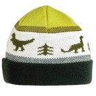 Turtle Fur Dino Storm Beanie Forest