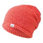 Atomic Womens AMT Basket Weave Beanie Hat - Coral