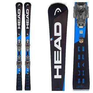 Head Supershape Titan SW Skis with PRD 12 Binding 2018/2019