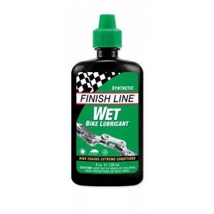 Finish Line Finish Line Wet Chain Lube 4oz Squeeze Bottle