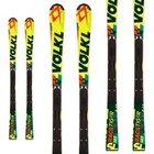 Volkl Racetiger Speedwall SL Junior Race Ski w/ Plate 2016