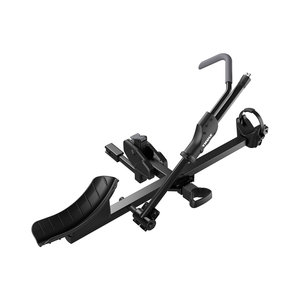 "Thule T1 Single Bike Hitch Platform Carrier (2"" & 1.25"") Black"