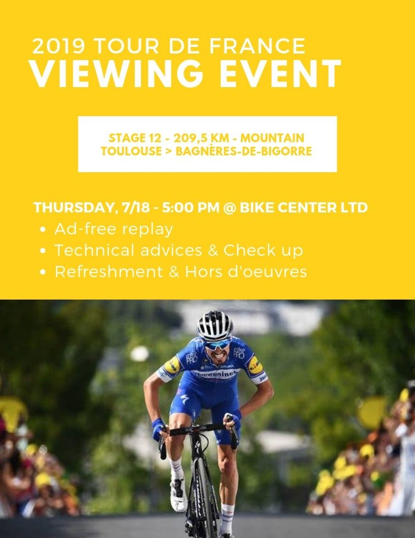 Tour de France Viewing Event
