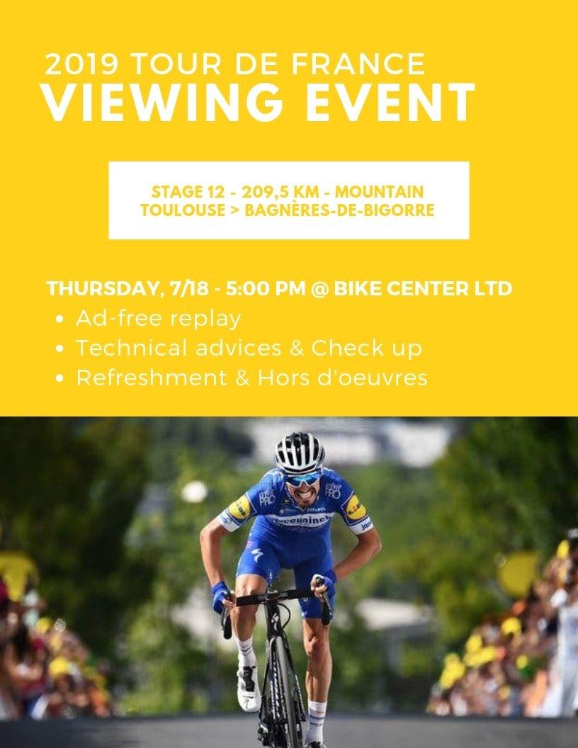 Tour de France Viewing Event