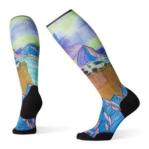 Smartwool PhD Ski LE Northern Dreams Print Sock