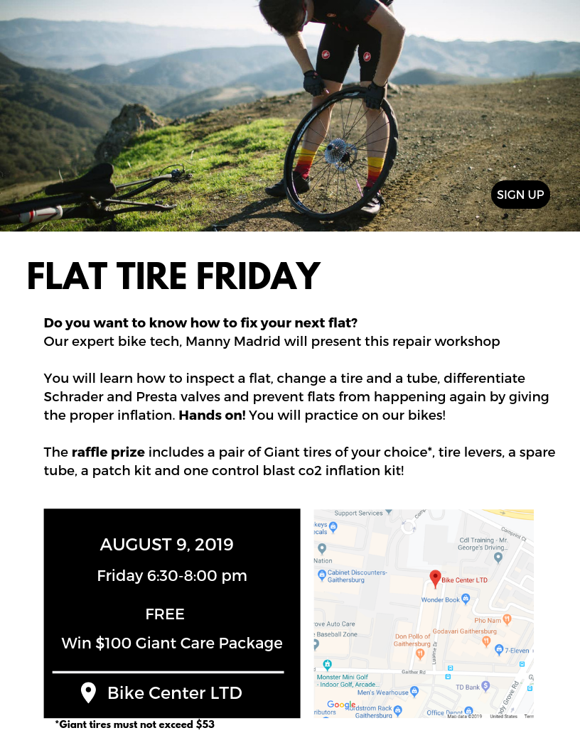 Flat Tire Friday