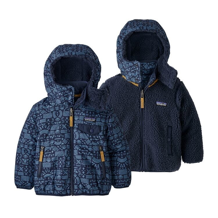 Baby Reversible Tribbles Hoody 19 20 Ski Center Ltd