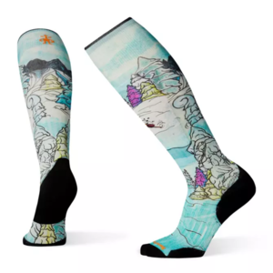 Smartwool M PhD Ski LE Pow Days Print Sock