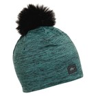 Turtle Fur Comfort Shell: Fluffy Pom Beanie 19/20