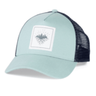 Turtle Fur Roots Run Deep Trucker: Light Turquoise