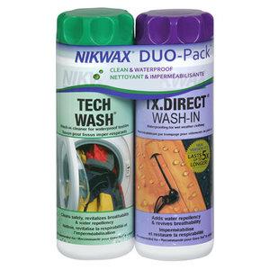 Nikwax Tech Wash/TX.Direct Wash DUO Pack