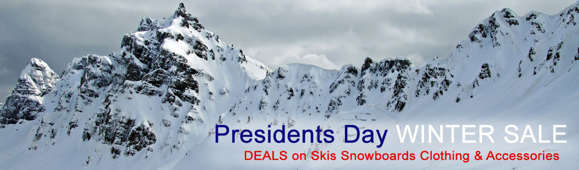 Presidents Day Winter Sale