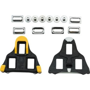 VP Components SL Road Cleat 6 Degree Float Black/Yellow